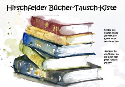 Hirschfelder Bücher-Tausch-Kiste