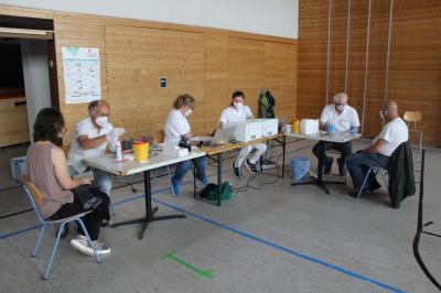 Foto zu Meldung: Mobile Impfaktion in der Gemeinde Prackenbach