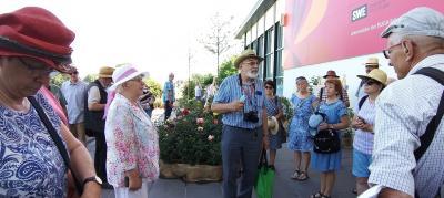 Treffen der Rosenfreunde auf der Buga in Erfurt: Eindrucksvoll und anregend