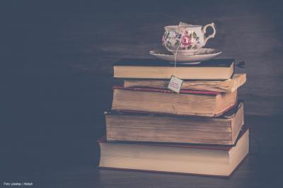 Bibliothek öffnet