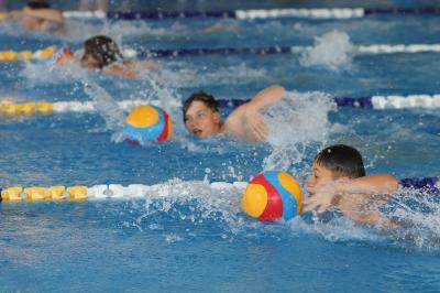 Foto zur Meldung: Kreis-Kinder- und Jugendspiele Wasserball
