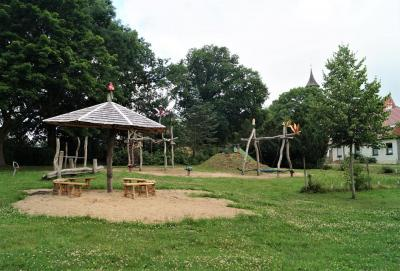 Foto zur Meldung: Dorfplatz Schorrentin