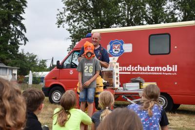 Foto zur Meldung: Sommerferienlager am Rudower See