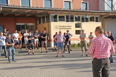 Auf dem Weg zur Normalität Freiwillige Feuerwehr Rosenheim beginnt wieder mit dem Übungsbetrieb