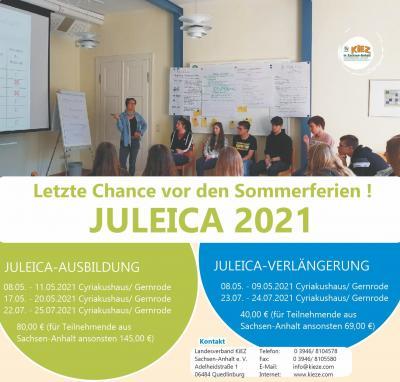 Letzte Chance vor den Sommerferien JULEICA 21