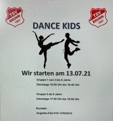 Dance Kids startet wieder nach der Corona-Pause