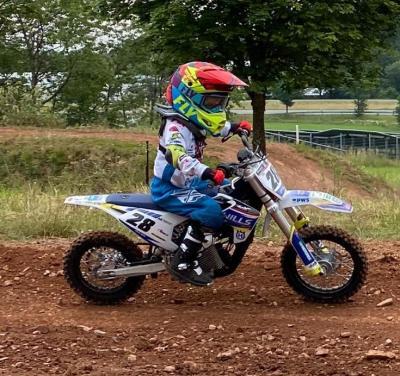 Joshua Wills bei seinem ersten Rennen in der MSR Meisterschaft in Laisa Foto: Y.Wills