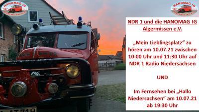 NDR bei der HANOMAG I.G. Algermissen e.V.