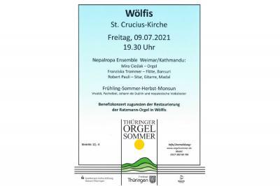 Foto zur Meldung: Thüringer Orgelsommer in Wölfis