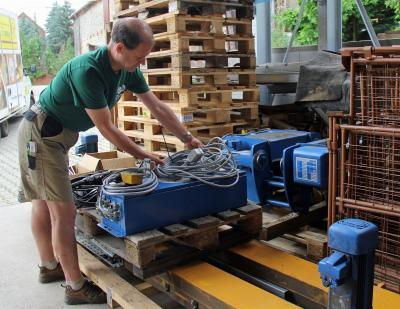 Foto zur Meldung: Wasserkraftwerk Tandala - Unterstützung aus Deutschland