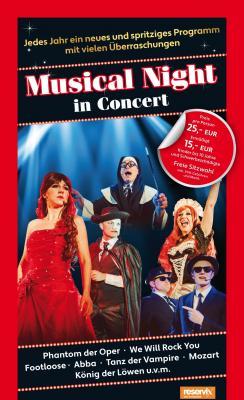 Weils so schön war, WIEDERHOLUNG: Musical Night in Concert