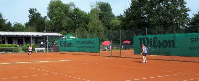 Foto zur Meldung: Mannschaften des TC Münster etablieren sich