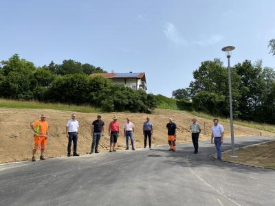 Foto zu Meldung: Ost-Erweiterung des Neubaugebiets in Moosbach fertiggestellt