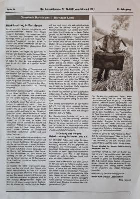 Foto zur Meldung: Rehkitzrettung in Barmissen