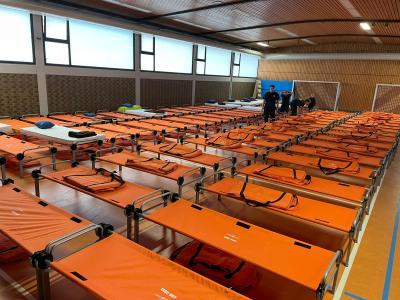 Feuerwehr Laudert unterstützt Unwetterlage im nördlichen Rheinland-Pfalz