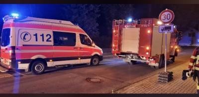 Gemeldeter Wohnungsbrand in Drebkau