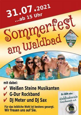 Foto zur Meldung: Sommerfest am Waldbad