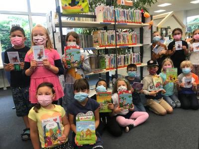 Unser Besuch in der Stadtbücherei  (Klasse 1a)