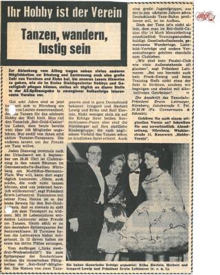 60 Jahre Tanzsportclub Rot-Gold-Casino Nürnberg e.V.