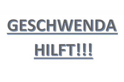 Foto zur Meldung: Geschwenda hilft!!!