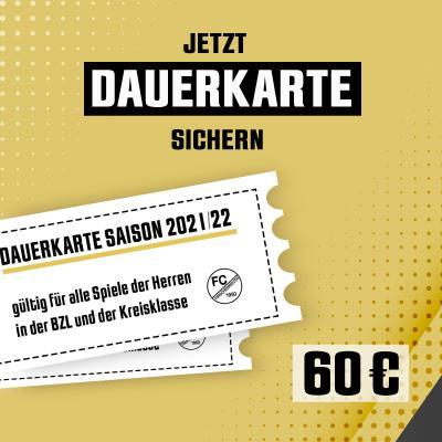 Dauerkartenangebot für die Spiele der Bezirksliga und Kreisklasse