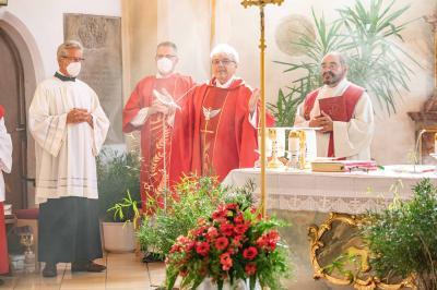 Foto zur Meldung: Heilige Firmung in der Pfarreiengemeinschaft Moosbach-Prackenbach-Krailing