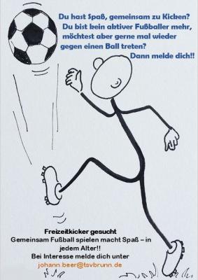Freizeit Fußballer*innen gesucht