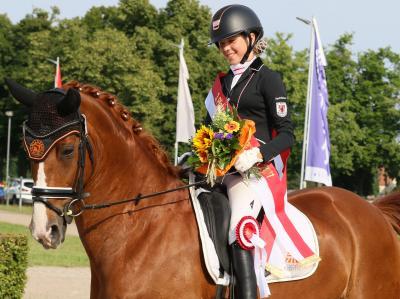 Foto zur Meldung: 09.-11.07.2021 Landesmeisterschaften Dressur in Neustadt/Dosse
