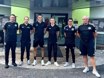 Bild der Meldung: Marco Öttl meistert U19 Bundesligalehrgang in Hessen