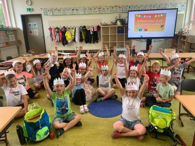 Buchstabenfest in der Klasse 1a