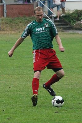 Der neue Trainer der 1.Herren - Dennis Wiedekamp - damals noch im Trikot der grünroten Jungs.