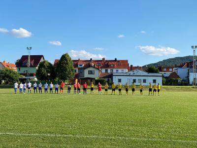 SV Glückauf Bleicherode - SC Leinefelde 1912 0:3 (0:3)