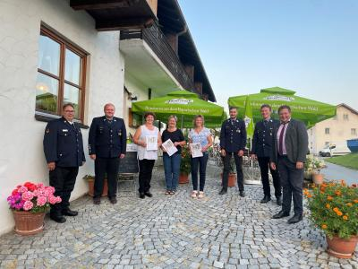 Foto zur Meldung: Generalversammlung der Freiwilligen Feuerwehr Ruhmannsdorf