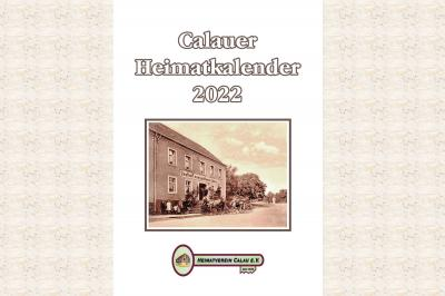 Titelmotiv des Calauer Heimatkalenders 2022. Grafik: Heimatverein Calau