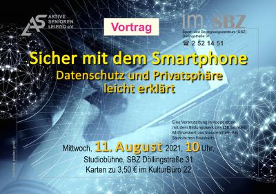 Ein hochinteressanter praxisbezogener Vortrag zur Sicherheit mit dem Handy