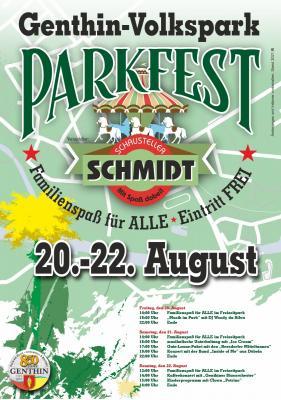 Parkfest mit Freizeitspaß im Volkspark Genthin