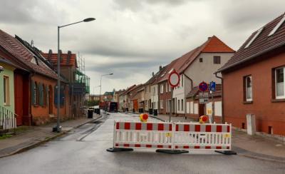 Foto zur Meldung: Straßensperrung