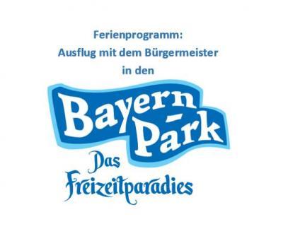 Foto zu Meldung: Ferienprogramm: Ausflug mit dem Bürgermeister in den Bayernpark