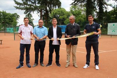 Foto zur Meldung: Platzeröffnung & 70 Jahre Tennisclub