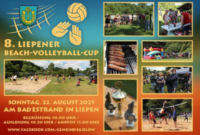 8. Liepener Beach-Volleyball-Cup am 22.8.2021