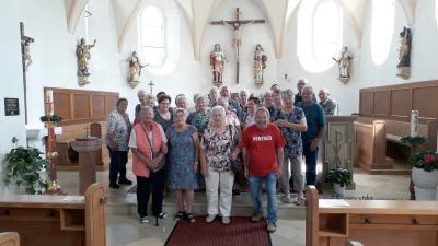 Foto zur Meldung: Ausflug des Seniorenkreis Prackenbach-Krailing am 12.08.2021