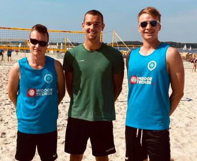 5. und 18. Platz bei der U19-DM im Beachvolleyball