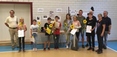 Foto zur Meldung: Gewinner im Wettbewerb 'Zeig Dein Talent' prämiert