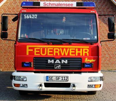 Foto zur Meldung: Aufregende Tage für die Schmalenseer Feuerwehr Mitte August