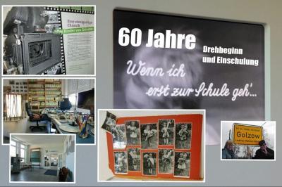 """Collage Filmmuseum """"Kinder von Golzow"""""""