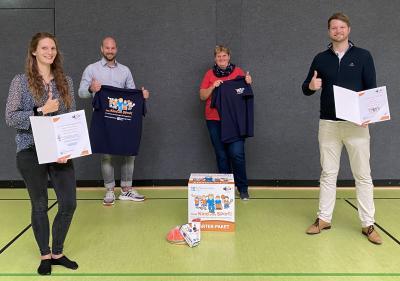 """Foto zur Meldung: Rock'n'Roll Club Teddybär Kiel freut sich über ein Starter-Paket der Initiative """"Kein Kind ohne Sport!"""""""