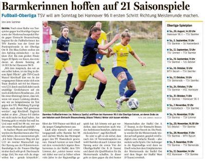 Saisonstart bei den Fussballfrauen