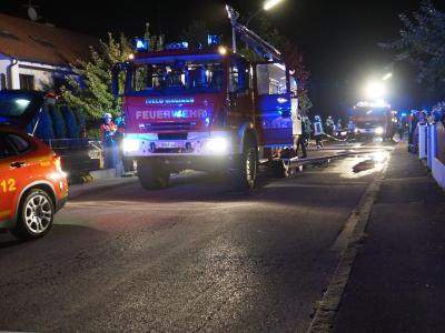 Foto zur Meldung: Kellerbrand in Vierkirchen