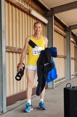 Karl-Josef Siep, LVN.Meister über 100m (M65)
