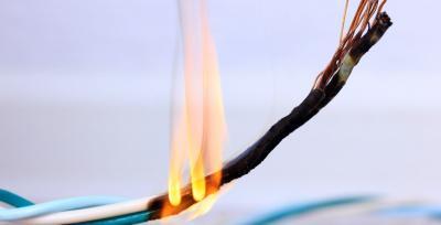 Symbolbild Schmorbrand